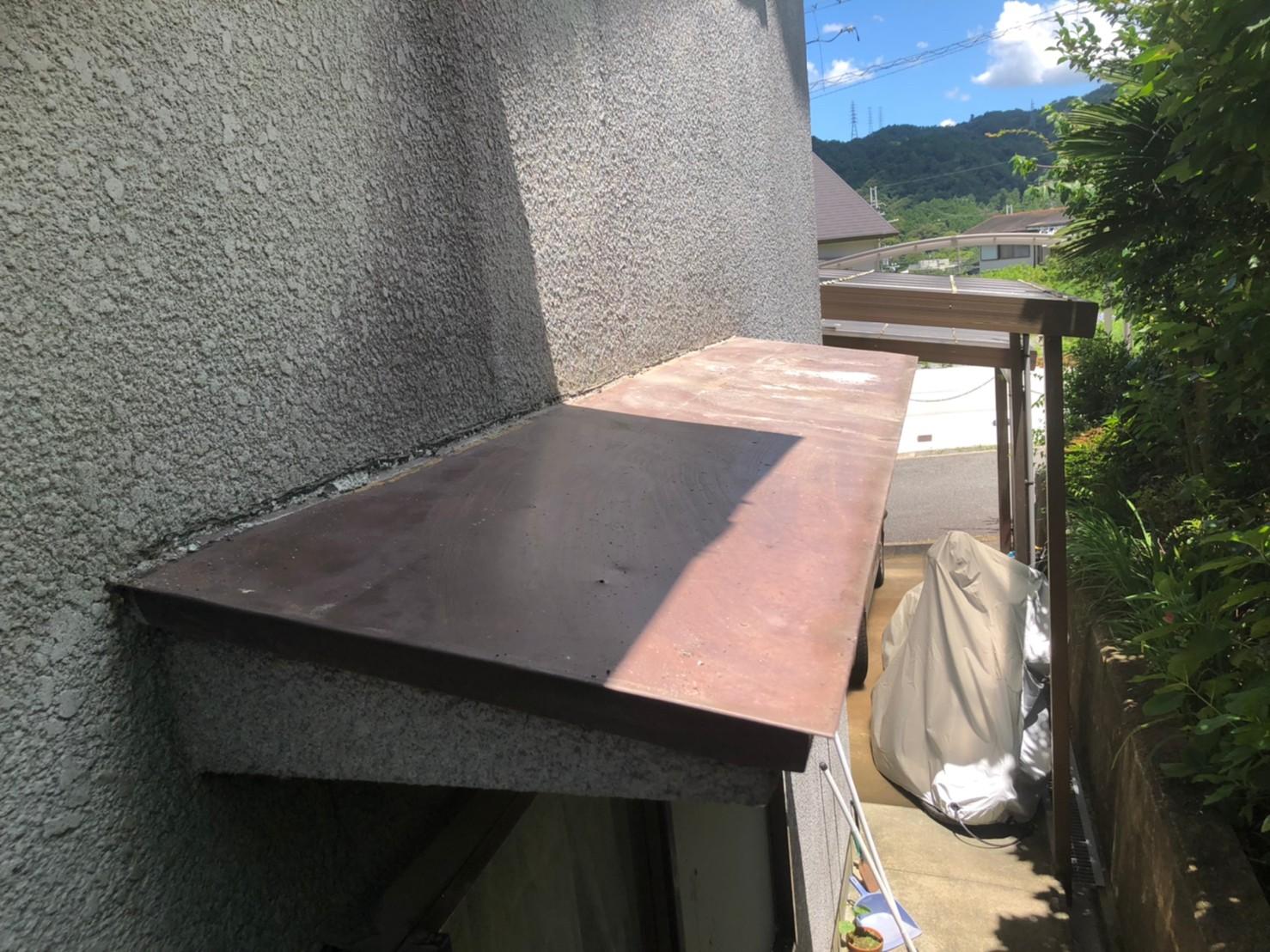 京都府宇治市の住宅で屋根の定期メンテナンス(無料点検)