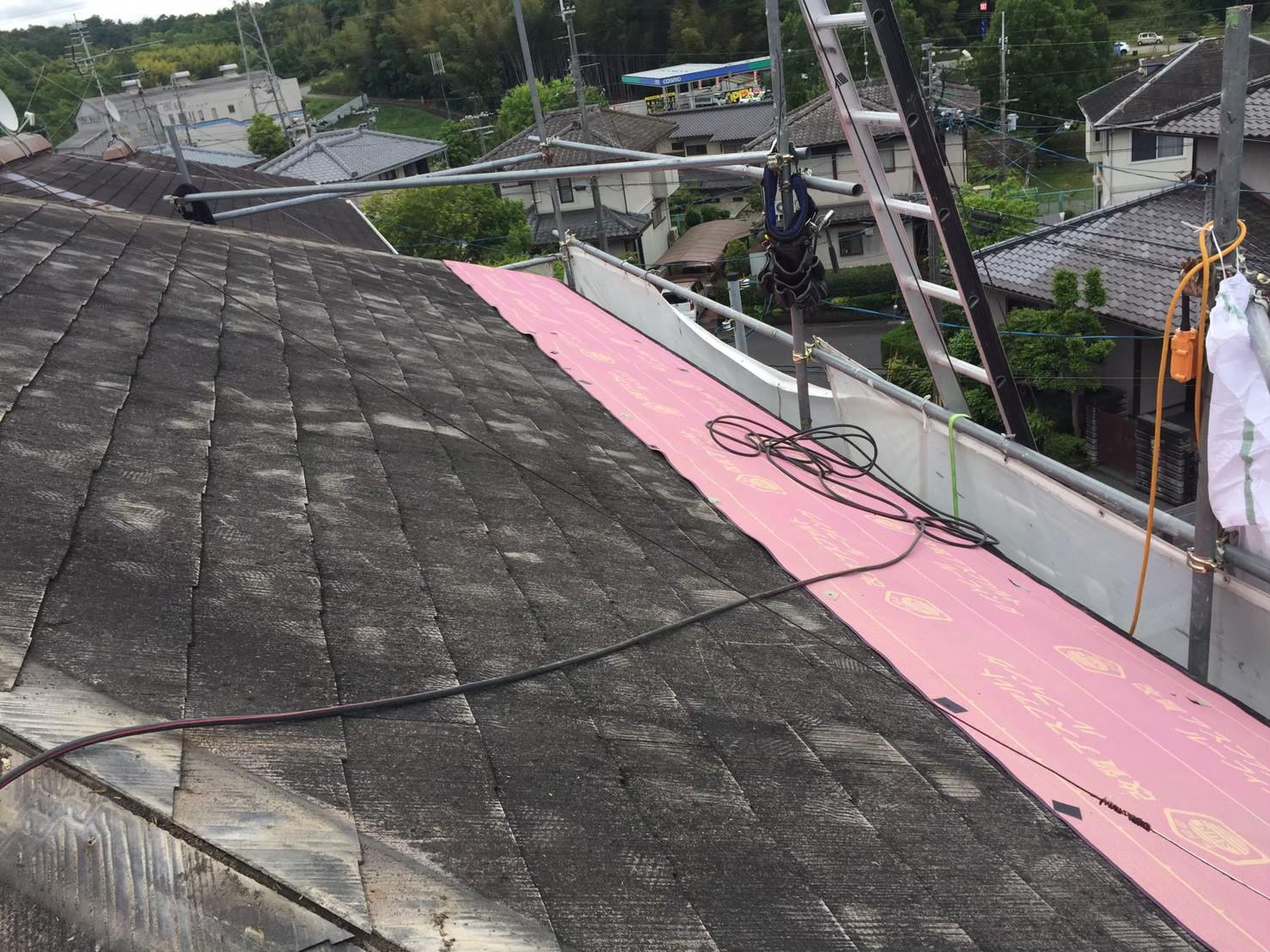 ガルテクトグリーンカバー工法