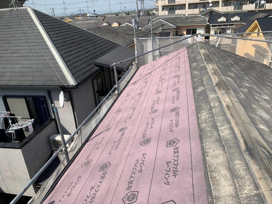 シングル屋根カバー工法防水シート