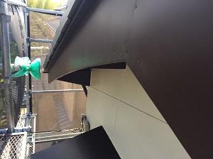 破風板金修理