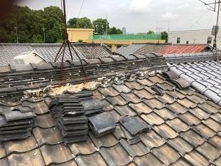 城陽市屋根点検