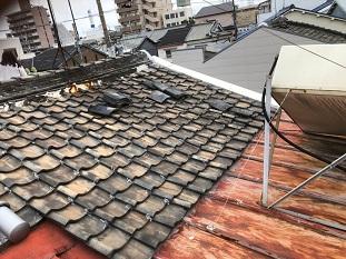 城陽市屋根調査