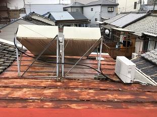 城陽市屋根葺き替え