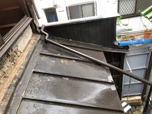 京田辺市雨樋修理