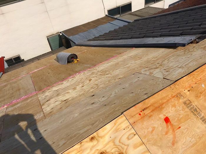 構造用合板の施工