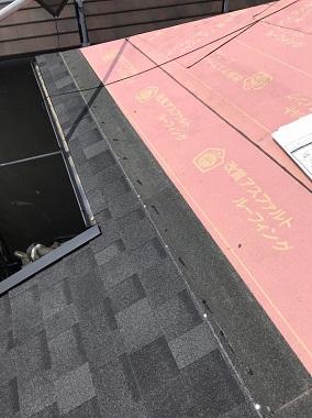 屋根改修リッジウェイ