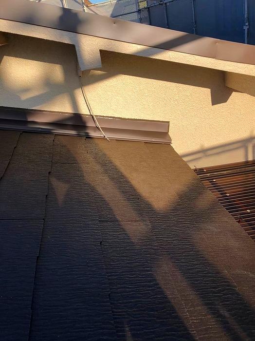 外壁雨押え水切り