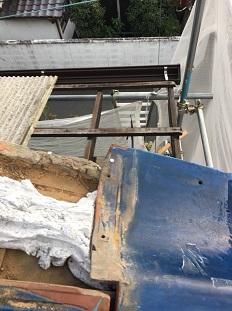 八幡市瓦修理