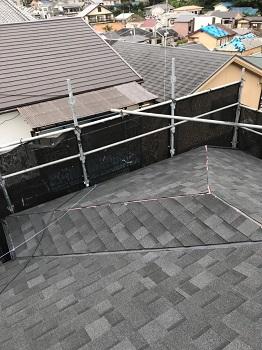 リッジウェイ 屋根