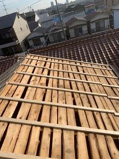 屋根嵩上げ