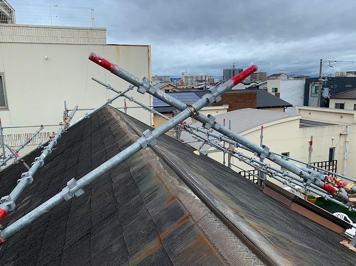 棟の垂木撤去