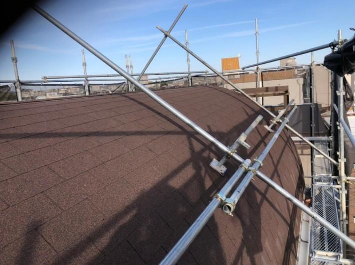 シングル屋根葺き替え