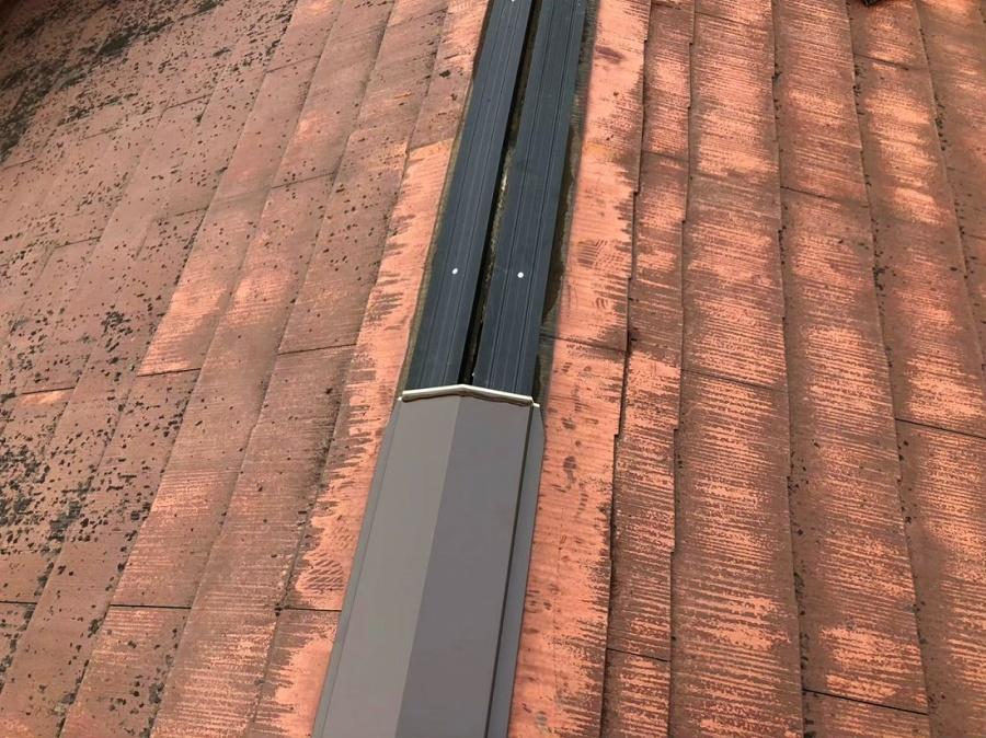 棟包み設置シーリング防水処理