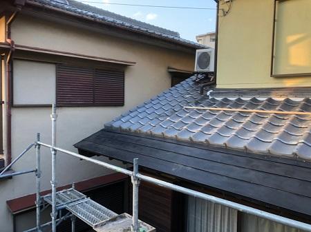 ガルバリウム晒し屋根