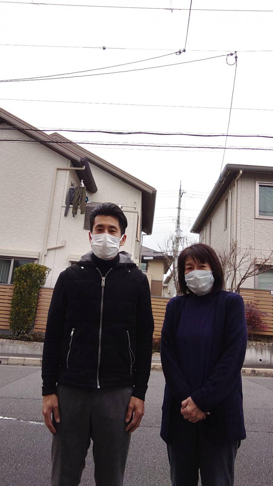 京都府宇治市でくり返す雨漏りで悩まれていたH様から感想をいただきました。