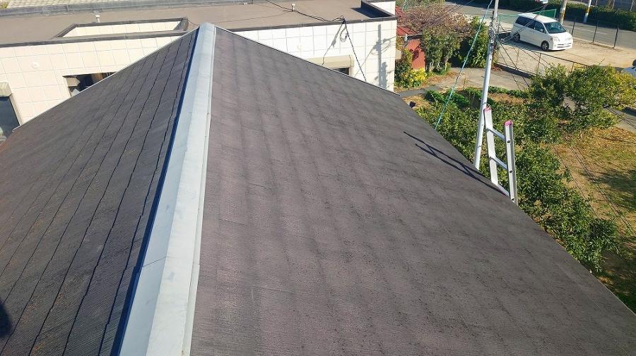 街の屋根やさん京都南店ホームページよりお問合せ・棟板金の浮き無料点検