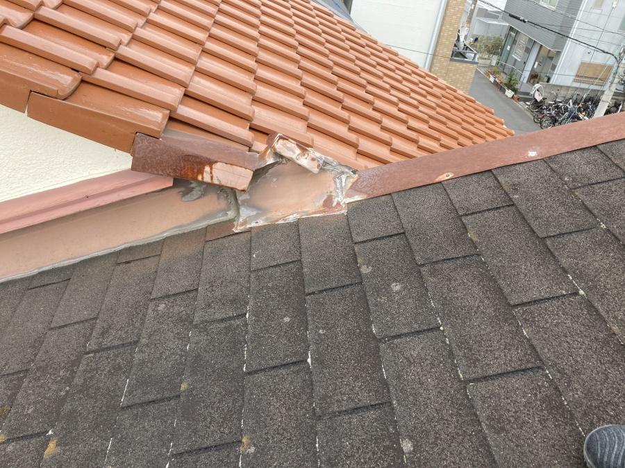 シングル屋根立平カバー工法