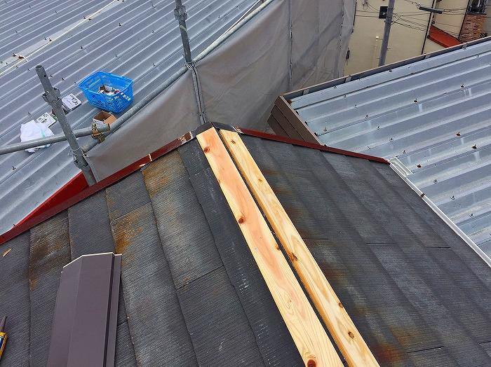 棟貫板設置