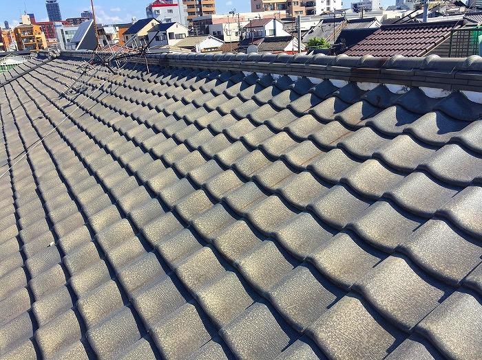 屋根葺き替え撤去