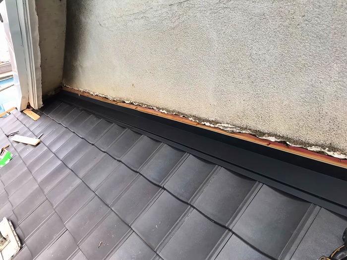 屋根外壁雨押え板金