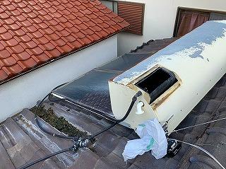 ソーラー温水器