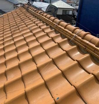 釉薬瓦屋根(オレンジ)