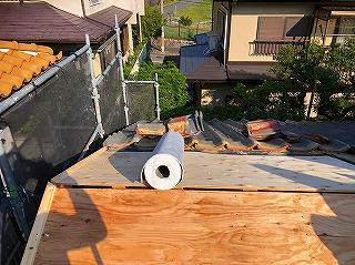 構造用合板とルーフィング