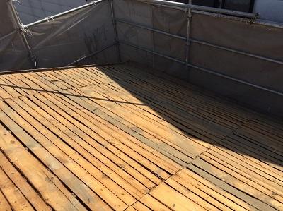 野地板 大屋根