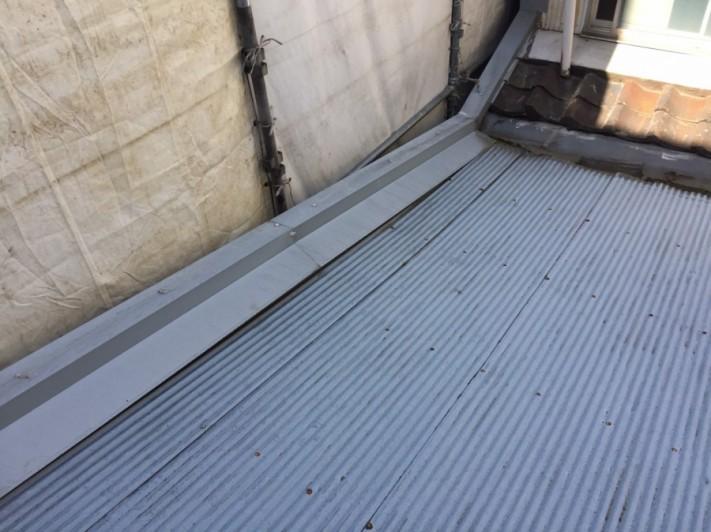 板金屋根の撤去