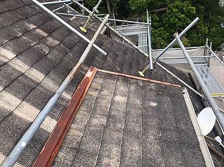 カラーベストの矩勾配屋根