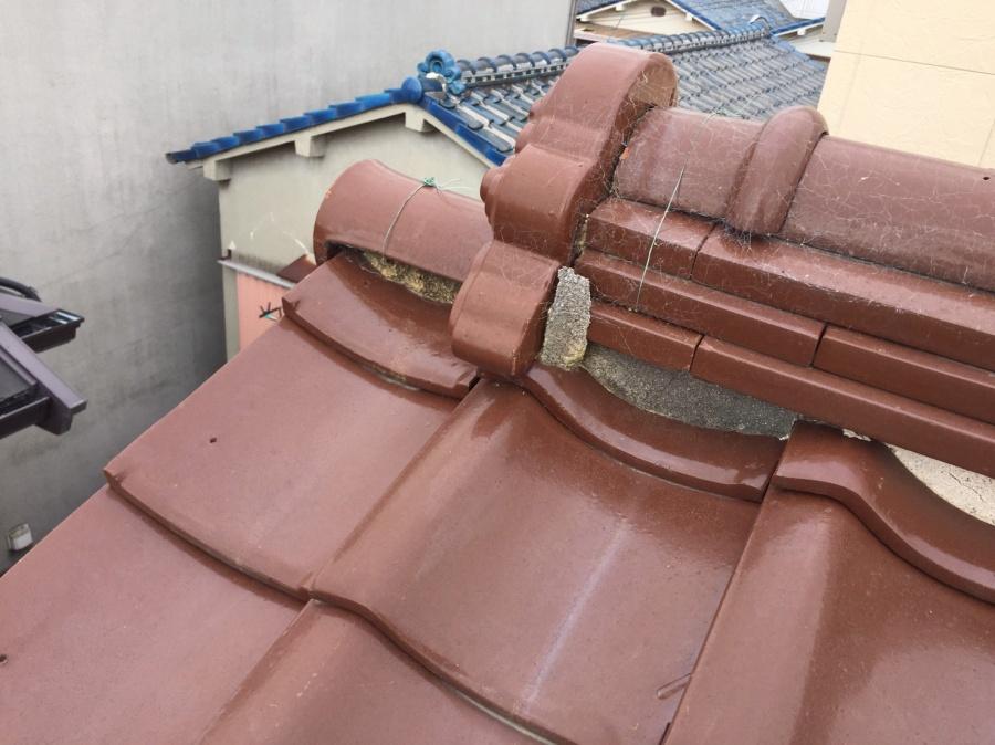 漆喰詰め直しラバーロック工法