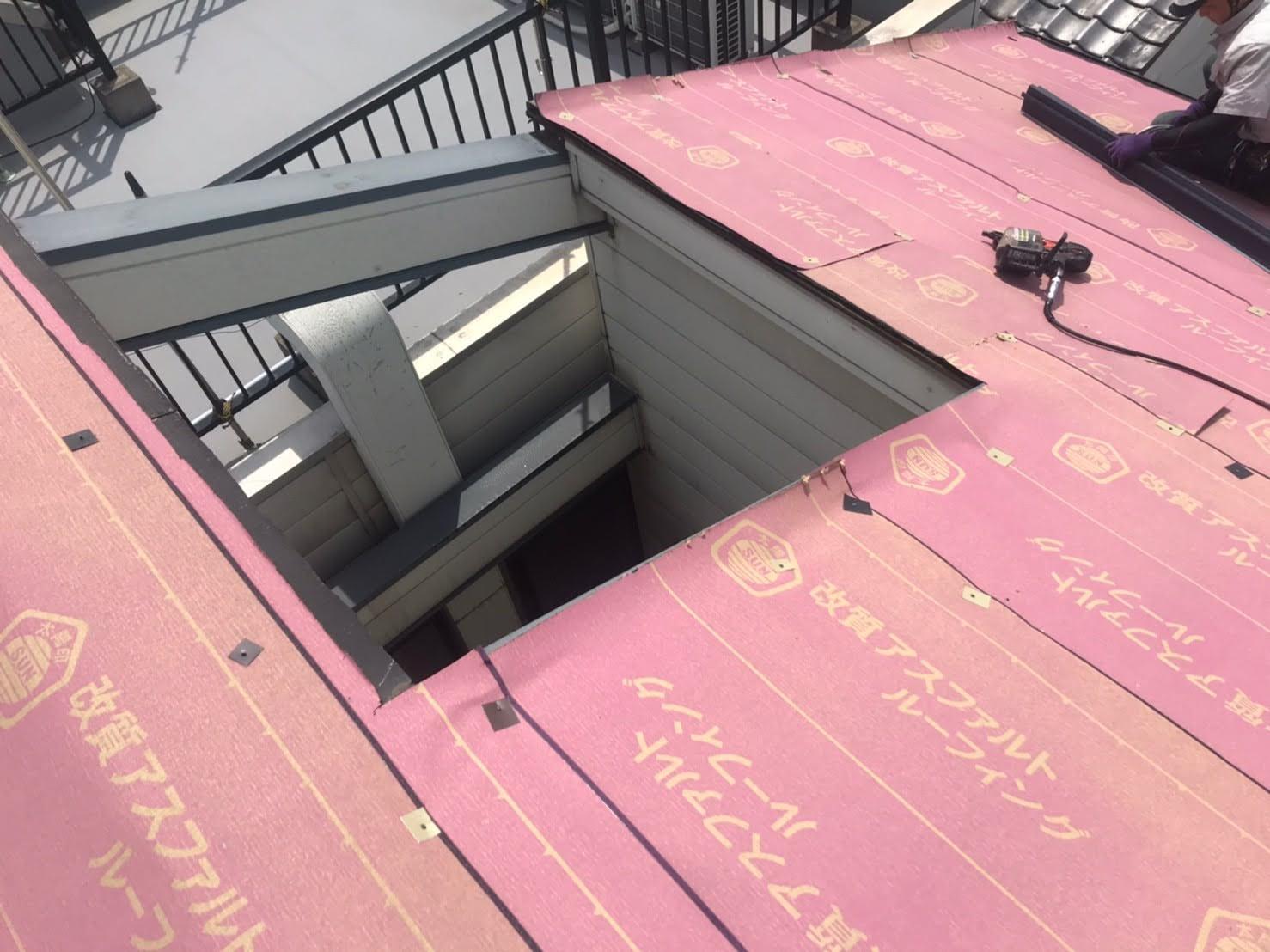 屋根工事防水工程