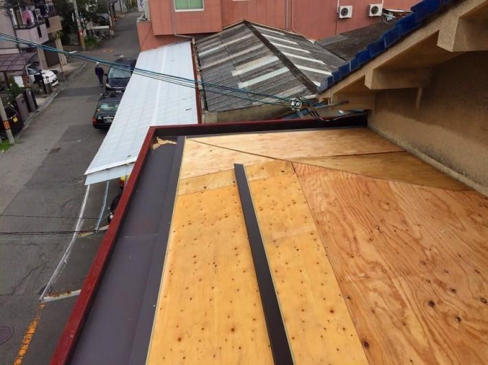 屋根下地構造用合板